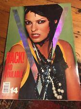 LINDA EVANGELISTA Nov/Dec 2001 V Magazine #14  TRISH GOFF  TASHA TILLBERG +++