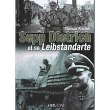 Sepp Dietrich et sa Leibstandarte panzer division, blindé, heimdal