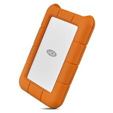 LaCie Rugged Secure 2TB USB-C All-Terrain Encrypted Hard Drive (STFR2000403)