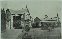 .RARE BOWRAL ST JUDES CHURCH & STATE SCHOOL NEW SOUTH WALES EARLY 1900S POSTCARD