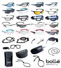 Bolle Safety Glasses - Various Types BOLLE PLATINUM Anti-Fog + Anti-Scratch Lens