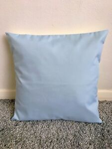 """NEW 14"""" PLAIN BABY BLUE CUSHION COVER PILLOW BED SOFA MORE COLOURS SIZES AVAIL"""