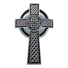 Celtic Cross Metal Enamel Lapel Pin Badge Tie Pin