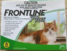 CLEARANCE! Frontline Plus for Cats 8 weeks up 6 Months Supply Merial Green Box