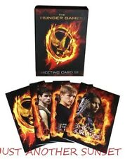 Hunger Games Greeting Card Boxed Set Katniss Peeta Gale Mockingjay NEW