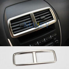 For Mitsubishi ASX Outlander Sport RVR 2011- Chrome Central Air Vent Cover Trim