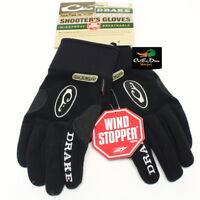 DRAKE WATERFOWL SYSTEMS MST WINDSTOPPERS FLEECE SHOOTERS GLOVE BLACK