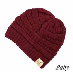 Baby Red CC beanie original