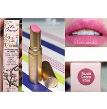 NIB Too Faced La Creme Color Drenched Lip Cream Razzle Dazzle Rose Full 0.11 oz.