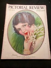 5/26 PICTORIAL REVIEW MAGAZINE EARL CHRISTY COVER FASHION PAGES PAPER DOLLS 126p