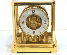 Cleaned Serviced 1960's Jaeger Lecoultre 528 Atmos Clock #188,000 Swiss Working