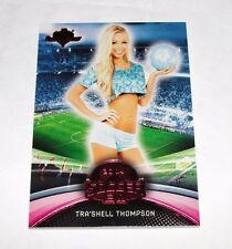 2014 Benchwarmer TRA'SHELL THOMPSON Soccer #28 Red Foil #1/1 Sexy Tropic Beauty