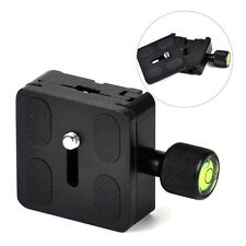 50mmx50mm Camera QR Quick Release Plate Clamp Fit For Ball Head Monopod Tripod