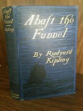 Rudyard Kipling first edition Abaft the Funnel (jungle book author)