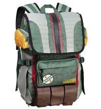 Movie Star Wars Boba Fett Mandalorian Armor Backpack Men Casual Travelling Bag