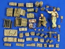 Verlinden 1/35 M21 Mortar Carrier Stowage, Ammo and Crew (2 Figures) 2734
