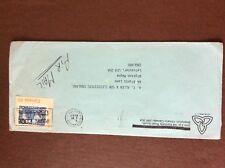 b1u ephemera stamped franked envelope airmail canada 1982