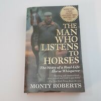 The Man Who Listens to Horses - Monty Roberts ~ Vtg Paperback ~ Free Ship