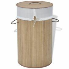vidaXL Bambus Wäschebox Wäschekorb Wäschesammler Wäschetruhe Wäschekörbe Natur