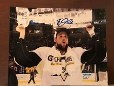 BRIAN DUMOULIN PITTSBURGH PENGUINS STANLEY CUP CHAMP SIGNED 8X10 PHOTO W/COA C