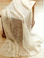 Cobweb Lace Baby Christerning Shawl 1 ply  Knitting Pattern