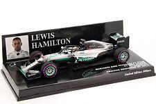 L. Hamilton Mercedes F1 W07 Hybrid #44 Halo Testing Singapur GP F1 2016 1:43 Min