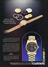 1987 Rolex with Tourneau - Original Advertisement Print Ad J168