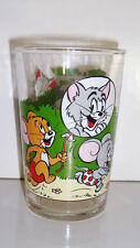 ANCIEN VERRE DE COLLECTION - TOM & JERRY 3.LE BALLON 1989