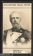 COLLECTION FELIX POTIN .. Oscar II roi de Suède ... médailles . décorations .