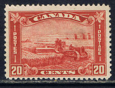 Canada #175(1) 1930 20 cent brown red Harvesting Wheat MNH CV$150.00