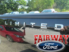 F-150 F-250 F-350 OEM Ford Parts LIMITED Bedside Chrome Emblem Decal QTY-1