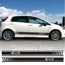 Adesivi Fiat Grande Punto EVO fasce adesive Punto evo strisce + SPATOLA OMAGGIO