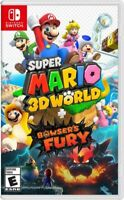 New Sealed Super Mario 3D World + Bowser's Fury - Nintendo Switch