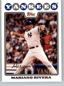 2008 Topps Baseball #590 Mariano Rivera - New York Yankees