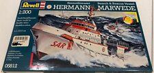 Revell Hermann Marwede Seenotkreuzer Search & Rescue Vessel 1:200 FS