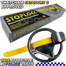 StopLock Pro Thatcham Category 3 Car Van Anti Theft Security Steering Wheel Lock