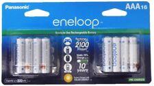 16 Panasonic Eneloop AAA NiMH Rechargeable batteries 2100 cycle Made in Japan