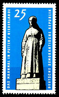 1141 postfrisch DDR Briefmarke Stamp East Germany GDR Year Jahrgang 1965
