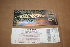 Boston -  2014 Ticket + Laminated Backstage Pass / FREE  SHIPPING
