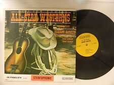 Johnny Horton-Jimmie Skinner-Jimmy Newman Lp ALL STAR WESTERNS   VG TO VG+