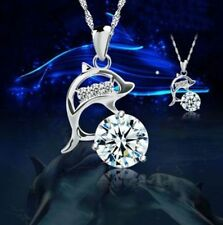Silver Plated Crystal 46 - 50 Costume Necklaces & Pendants