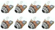 """(8 Pack) Switchcraft 12A 1/4"""" 6.35mm TS Shunt Female Phone Shorting Panel Jack"""