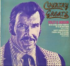 FOLEY D HUDSON country greats DJSL 042 A1/B1 1st press uk djm 1975 LP PS EX/EX