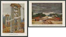 Vollbehr Reichsautobahn Bauwesen Unterhaching Feldbahn Bagger Mangfallbrücke ´34