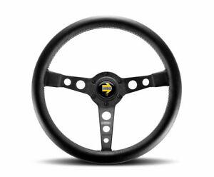 MOMO Prototipo Black 350mm Steering Wheel New Genuine
