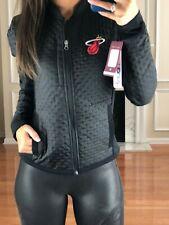 NBA Miami Heat Women's S Textured Performance Jacket, Black