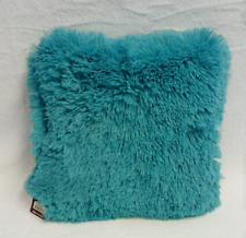 Soft Shaggy Cushion Throw Pillow - 10 Colors