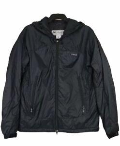 Columbia Titanium Omni Heat Mens Waterproof Jacket Lightweight Coat Black Size L