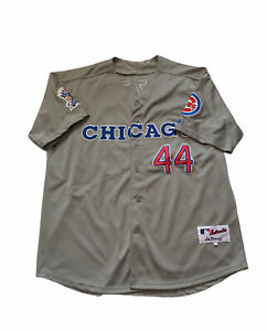 Anthony Rizzo Chicago Cubs 150th Anniversary Baseball Jersey - Grey