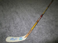 MARTY HOWE Hartford Whalers SIGNED Autographed Hockey Stick w/ COA